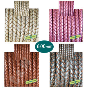 Metallic Braided 6.00mm