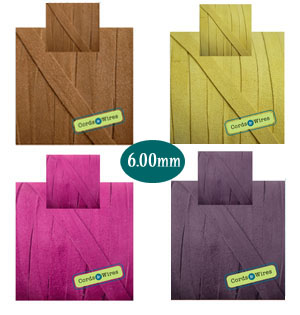 flat suede 6.00mm