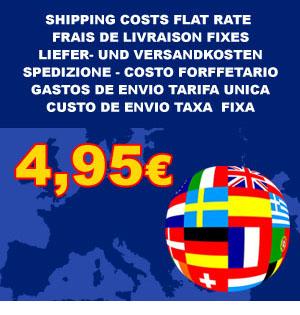 Shipping 4,95 Euros