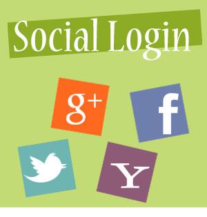 Login Facebook GMail Twitter Yahoo