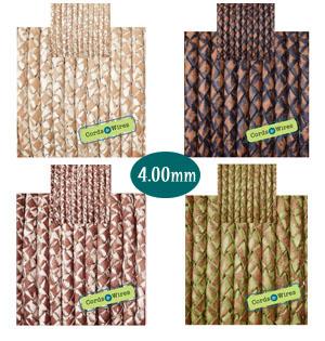vintage braided 4mm